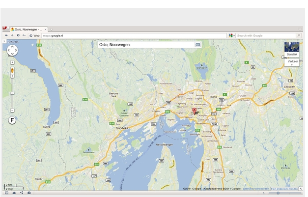 Google maps full screen extension - Opera extensions