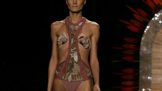 Using ultra-skinny models