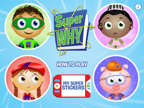 SUPER WHY 20 Awesome iPad Apps That Will Teach Your Kids to Read