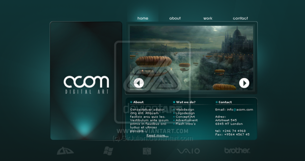 Acom Website Design