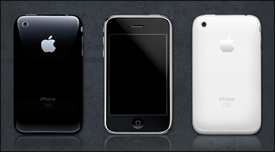 iPhone 3G PSD