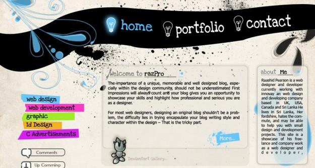 Popular Portfolio design