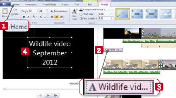 Edit Brilliant Home Movies in 10 Easy Steps - By using the new Windows Movie Maker
