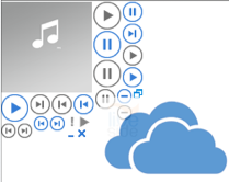 SkyDrive Music Player