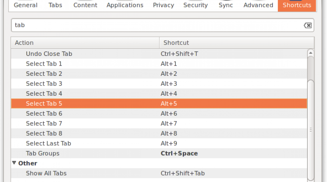 How to create your own keyboard shortcuts in Firefox using an add-on
