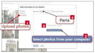 select photos from your computer
