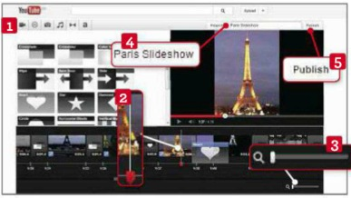 add other media to slideshow