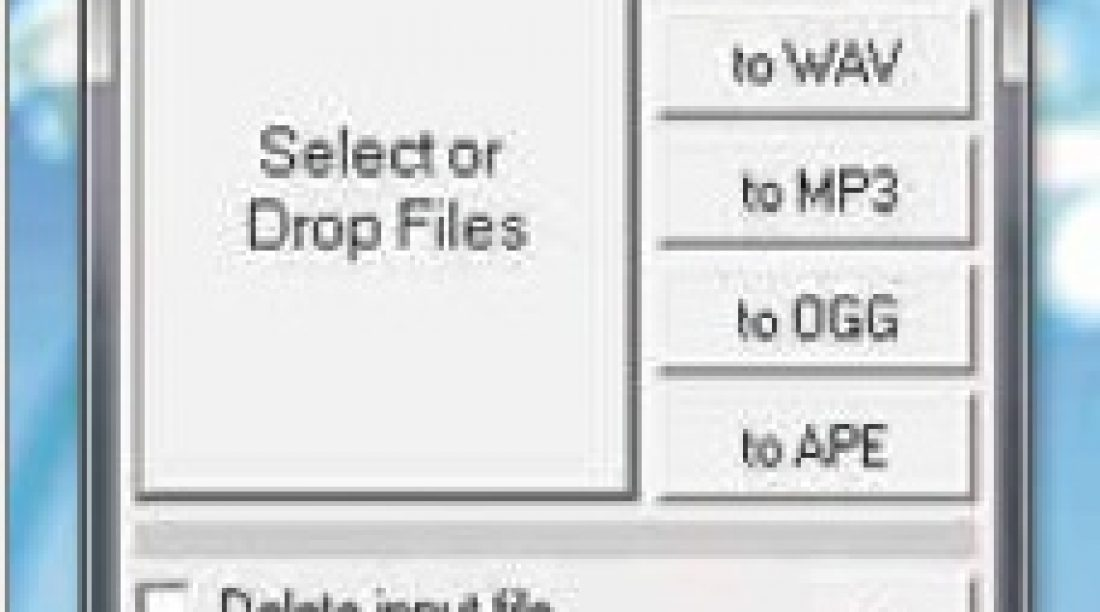 FlicFlac - Audio Conversion Tool for WAV, FLAC And MP3 Converter