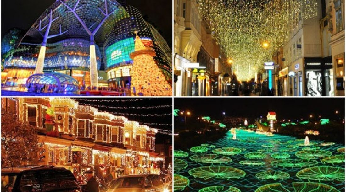 Top 10 Cities to Visit in the World For Christmas Light Decoration