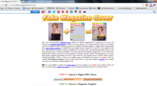 Create Fake Magazine Covers For Free & Get Popular on Facebook