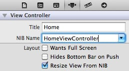 14-connecting-homeviewcontroller-xib