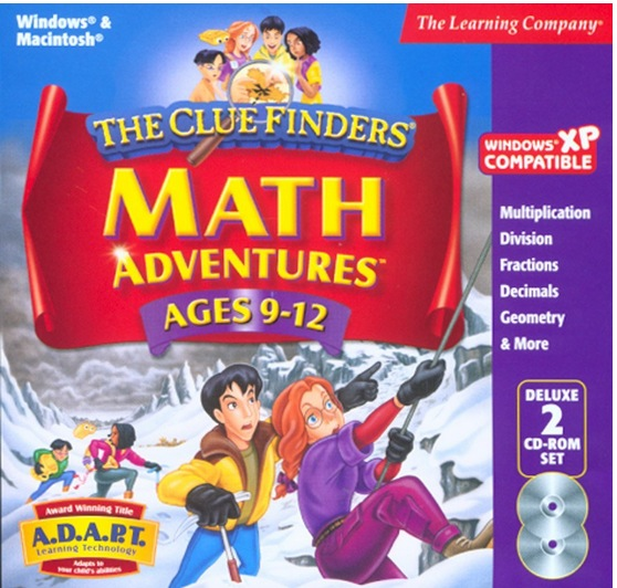 Cluefinders Math Adventures
