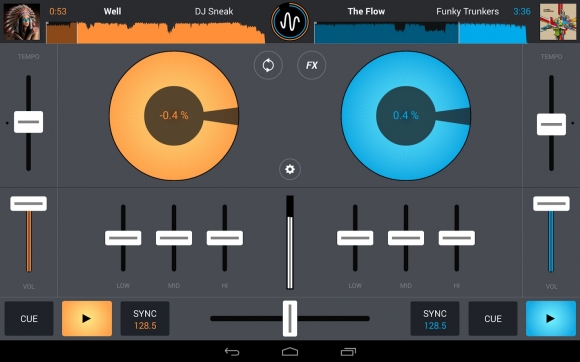 CrossDJ 100 Best Android Apps to Make your Device Enterprising