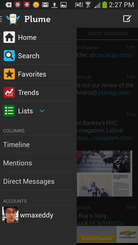 Plume for Twitter 100 Best Android Apps to Make your Device Enterprising
