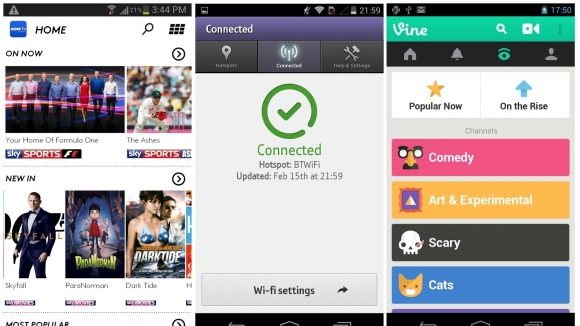 Sky NOW TV 100 Best Android Apps to Make your Device Enterprising