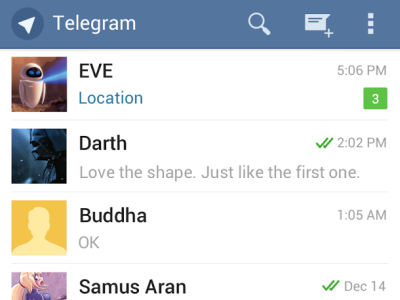 Telegram 100 Best Android Apps to Make your Device Enterprising
