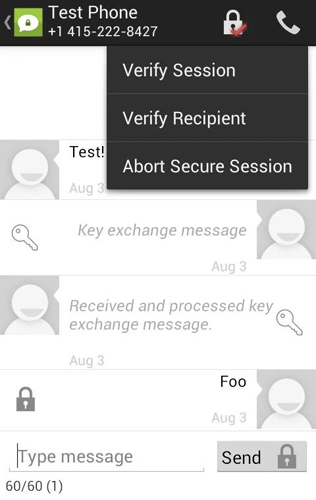 TextSecure -Private SMS-MM