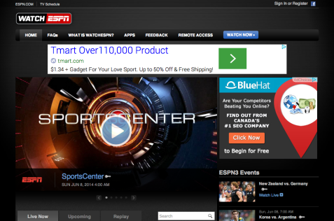 espn e1402560846419 HOW TO   Watch FIFA World Cup 2014 Online