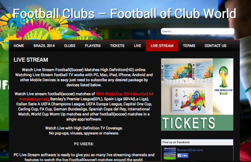 soccersclub e1402561068609 HOW TO   Watch FIFA World Cup 2014 Online