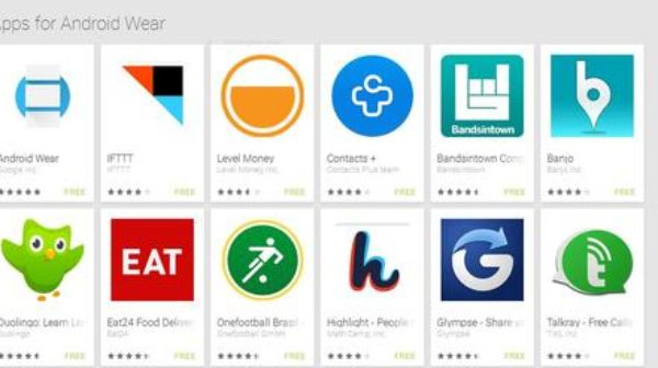 Google Android Apps for Wearable Gadgets