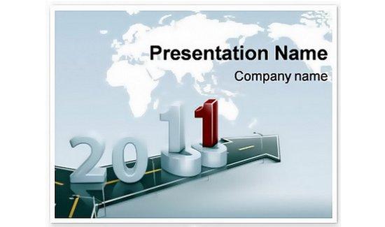 2011 calendar Keynote