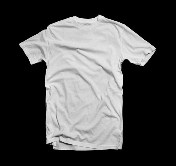 ANGELACEVEDO BLANK T-SHIRT – WHITE 001
