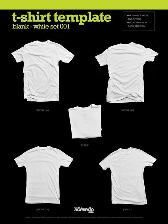 Blank T-Shirt – White