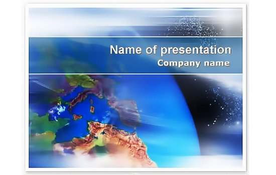 Earth Keynote templates