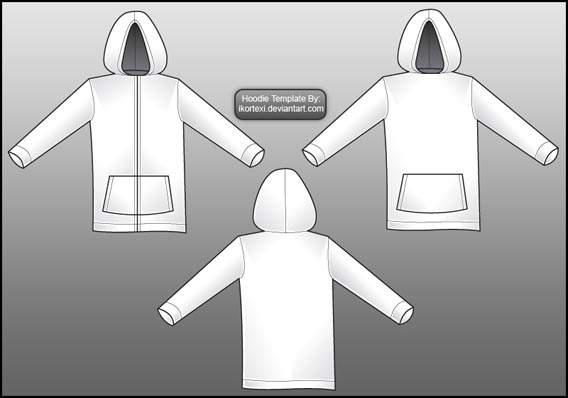 Hoodie Template2 Download 40+ Free T Shirt Templates & Mockup PSD