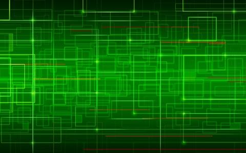 Keynote Green Network Template