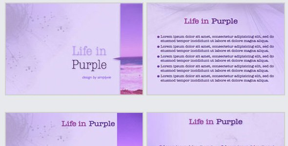 Life in Purple