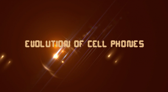 Highlights of Evolution of Cell Phones : A Video