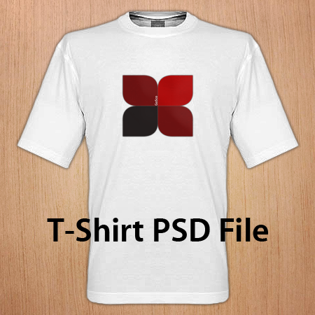 T-Shirt PSD File