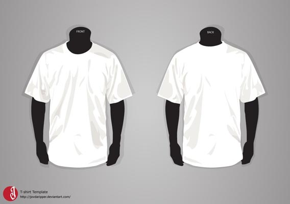 t shirt template update