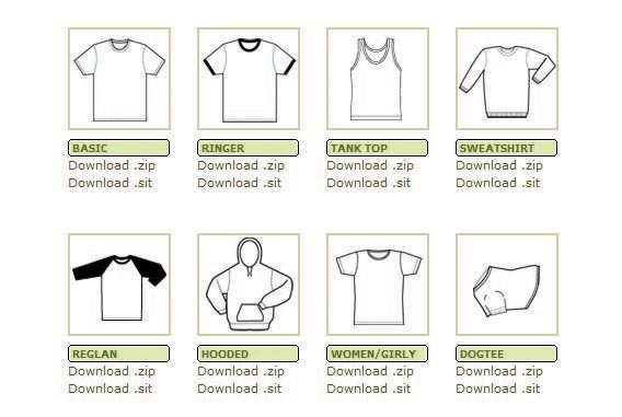 Templates – vector formats2 Download 40+ Free T Shirt Templates & Mockup PSD