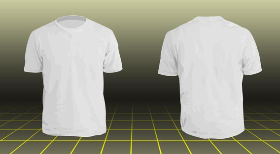 Tshirt model2 Download 40+ Free T Shirt Templates & Mockup PSD