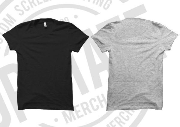 UPSTATE MERCH T-SHIRT MOCKUP TEMPLATE