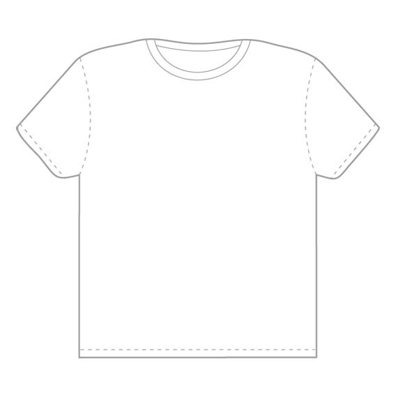 Vector Tshirt Template from Threadless2 Download 40+ Free T Shirt Templates & Mockup PSD