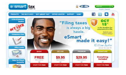eSmart Tax Top 10 Best Income Tax E Filing Software