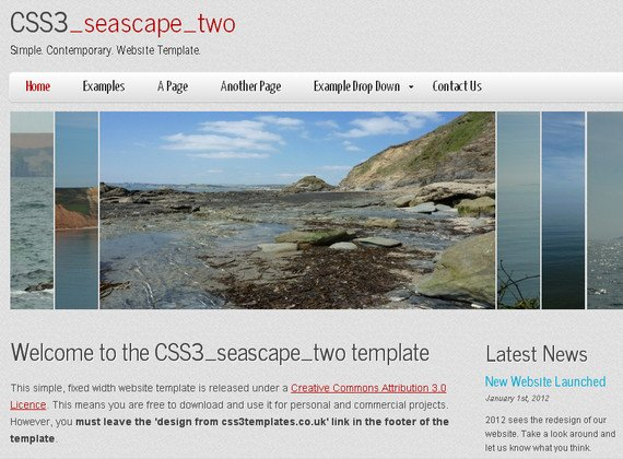CSS3 seascape two