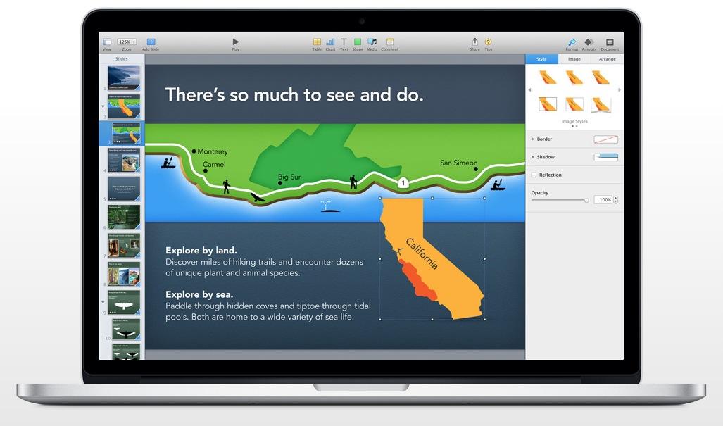 mac keynote beautiful themes