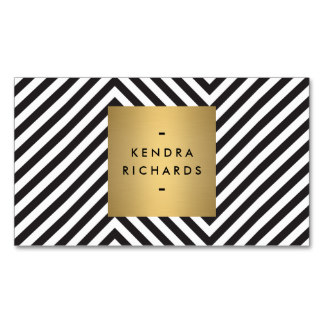 retro black and white pattern gold name logo business card rdae42de475d144bfb3870f78c170961d i579t 8byvr 324 52 Most Creative Business Cards That Will Attract your Customers