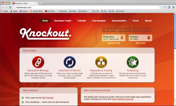 1681 Best JavaScript Frameworks for Web Designers