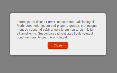Create a Beautiful Looking Custom Dialog Box With jQuery and CSS3