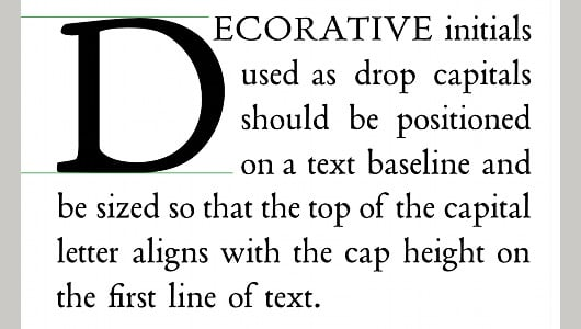 Learn How To Create Drop Cap Letters In CSS