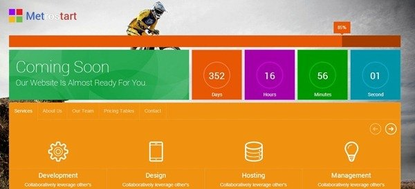 Free Html5 Coming Soon Template | Best Coming Soon Under Construction Templates Free Paid Savedelete