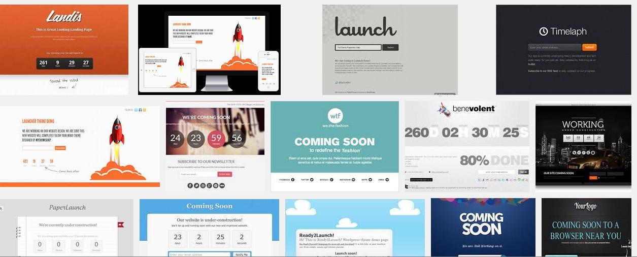 25 Best Free Coming Soon WordPress Themes
