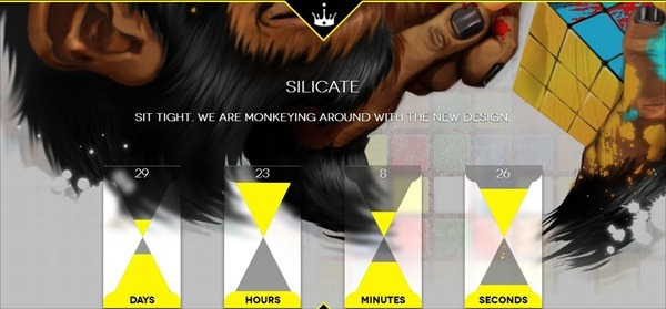 Silicate – Responsive Minimalist Coming Soon HTML