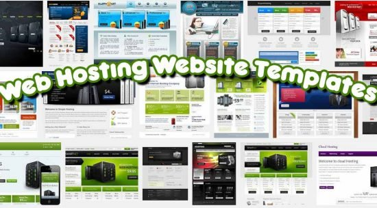 52 Best Free & Premium Web Hosting Website Templates