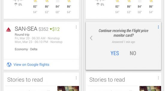 Google Now Launcher Will Find You Cheaper Flights